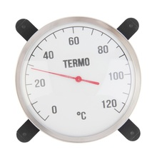 2017 Practical Sauna Room Thermometer Temperature Meter Gauge For Bath And Sauna Indoor Outdoor Used