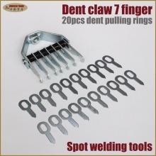 Dent bear claw with pull rings Dent pulling system auto car body repair tool metal garage equipment spot welder welding tools