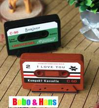 New cute cassete style stamp  / Decorative DIY work tape stamp / Wholesale