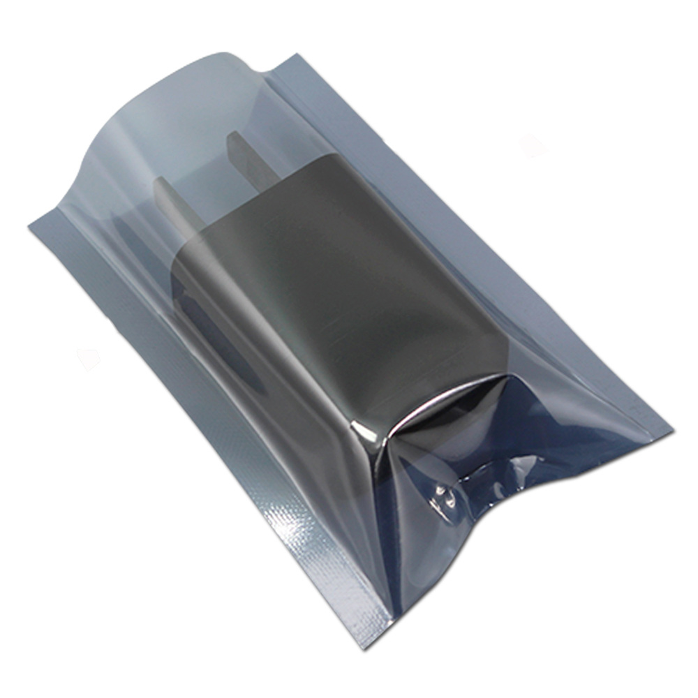 "1000Pcs/Lot 5x8cm (2*x3.1"") Anti Static Packaging Bag for Electronic Accessories ESD Packing Pouches Event Party Pack Bags 2"
