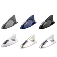 Mini 6 Colors Professional Car Solar Power LED Shark Fin Flash Strobe Warning Antenna Style Tail Rear Lamp Taillight