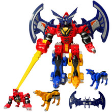 Bats king gift deformation of the 6-7-8 year-old male love toys toys for children God beast combiners deformation robot