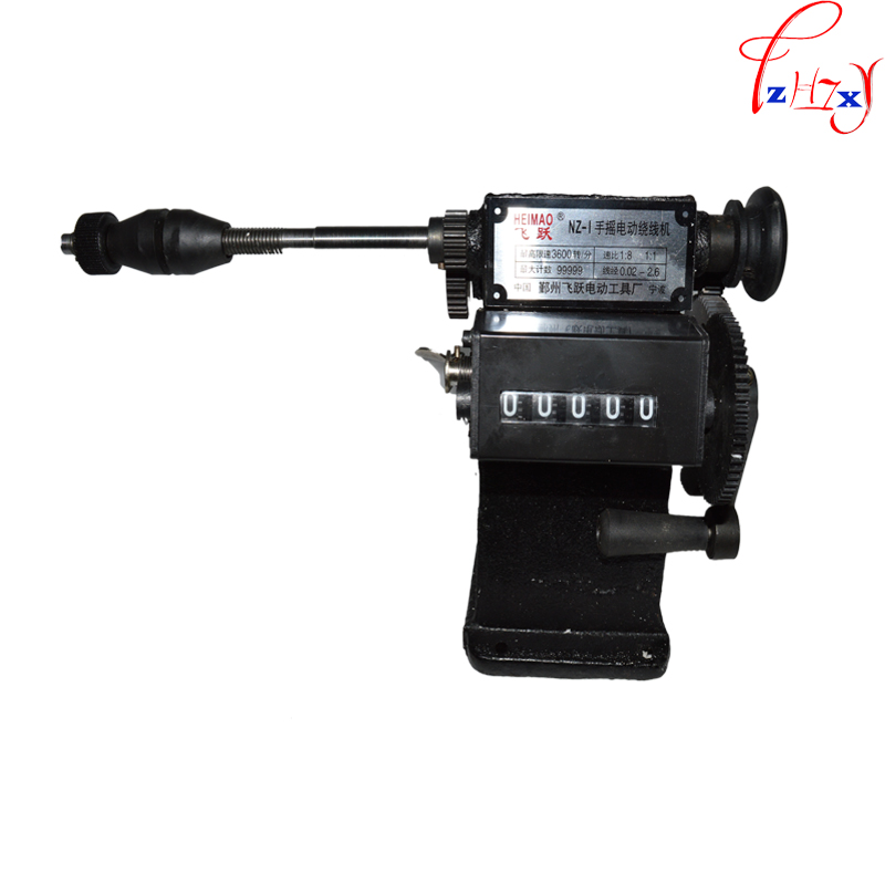 2014 high quality   NZ-1 Manual hand dual-purpose Coil counting and winding machine<br><br>Aliexpress