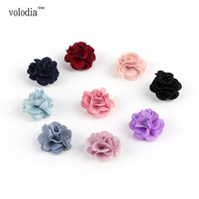 New 5pcs/lot The Latest Japanese Nail Jewelry Detachable Magnet Base Cotton Cloth Flower/bow Pendant Charm Magnet Attraction