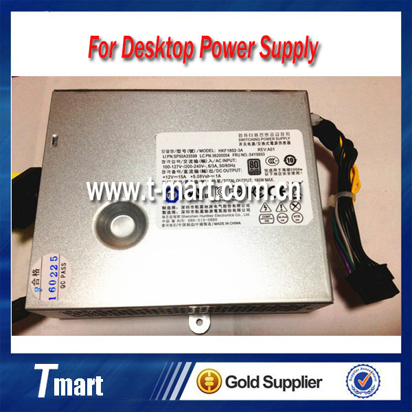 100% working desktop power supply for lenovo S510 S560 S590 S710 S720 S770 HKF1802-3A 180W, fully tested and perfect quality<br><br>Aliexpress