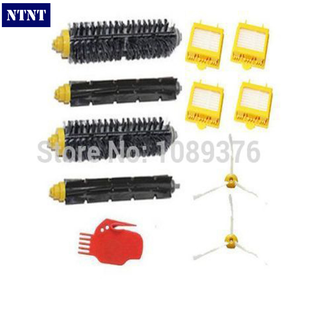 NTNT Free Post New Bristle Beater Brush Filter Cleaning Tool Kit for iRobot Roomba 600 700 Series<br>
