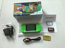 2.8inch Fullcolor LCD Screen 8bit Handheld Game Player Pocket Video Game Console with AV Cable TV-out Free Game Card US/EU Plug(China)