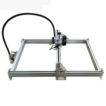 1PC DIY laser machine laser engraving machine cutting plotter 300mw mini carving engraving area 35 * 50cm CNC Laser(China)