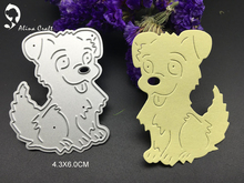 METAL CUTTING DIES paper craft  Scrapbook card album embossing stencils animal  dog doggy love pet puppy art cutter home decor