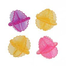 Bestselling 4pcs Reusable Laundry Dryer Ball Washing Ball--Varying Color(China)