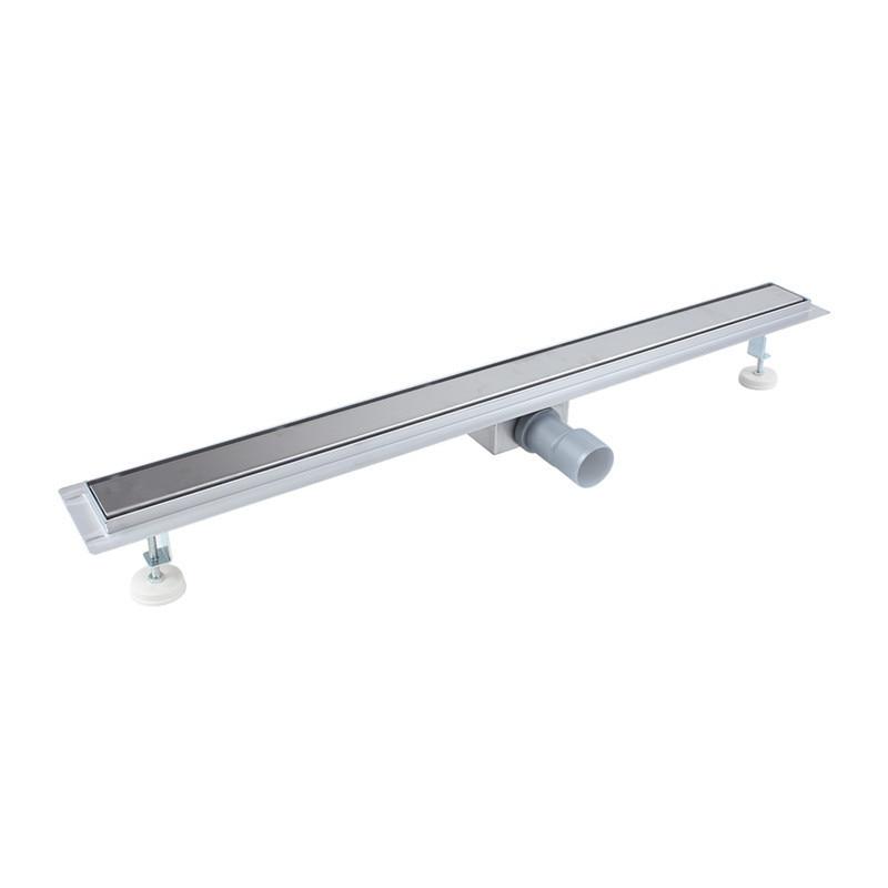 800 MM Stainless Steel Linear Long Shower Grate Bathroom Floor Drain  Bathroom Channel Tile Drains<br><br>Aliexpress