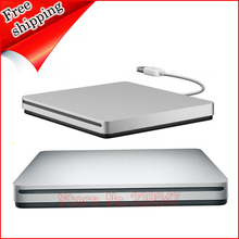 for Apple Macbook Pro 2014 2013 2012 2011 USB DVD SuperDrive Double Layer 8X DL DVD RW RAM Burner External Optical Drive Silver