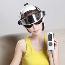 Electric Head Eye Massager Air Pressure Brain Acupoint Massage Relaxing Instrument With Music Relaxation English Menu chargeable