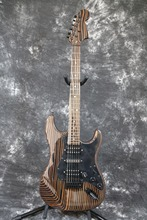 Zebrawood body zebrawood neck Strat Electric guitar Guitarra All color Available(China)