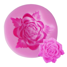 New Hot Selling Rose Leaf Shaped Silicone Mold Cake Decoration Fondant Cake 3D Food Grade Silicone Mould
