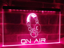 LM013- On Air Headphone Headset Studio LED Neon Light Sign