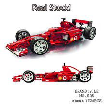 YL005 74Technic F1 Racer Car car-styling Building Blocks Bricks Kid fun Toys Children Compatible Lepin 8157 Decool 3335 - MrJanson store