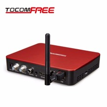 2017 New Satellite TV Receiver Set Top Box Tocomfree S929 ACM USB WiFi FTA DVB-S/S2 IKS+SKS IPTV for South America Brazil Chile(China)