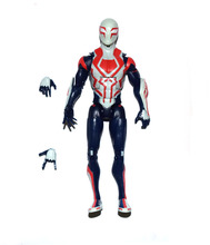"Marvel Comic Spiderman Spider-Man 2099 White Red Deco 6"" Loose Action Figure TOY FREE SHIPPING"