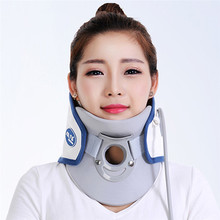 Home use Air wave collar orthoterion neck massage straightener bone care Support Braces relieve pain Cervical traction device