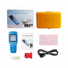 Original Device Oil Reset Tool X-200 X200 OBD-II Handheld Engine Diagnosis for Oil Resetting Update Online Support 24V Cars