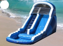 (China Guangzhou) manufacturers selling Pool slides, Inflatable slides, COB-445