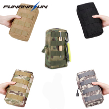 Buy Tactical Military Molle Pouch Protable EDC Utility Bag Outdoor Waist Pack Cell Phone Bullet Belt Pouch Paintball Shooting for $3.95 in AliExpress store
