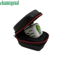 CHAMSGEND 2017 Gift For Fidget Cube Anxiety Stress Relief Focus Dice Bag Box Carry Case Packet Drop Shipping Mar1