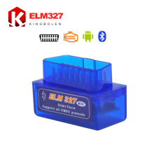 Super Bluetooth MINI ELM327 V2.1 2015 New  OBD2 / OBDII ELM 327 for Android Torque Car Code Scanner Free Shipping