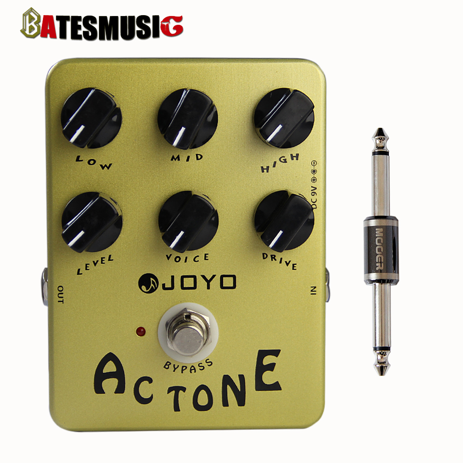 JOYO JF-13 AC Tone Classic British Sound True Bypass Pedal with Pedal Connector<br><br>Aliexpress