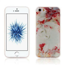 Flower Anti Gravity Nano Technology TPU Selfie Back Stick Grip Magic Phone Case For iphone 7/Plus/6 6s/SE 5 5S Suction Skin