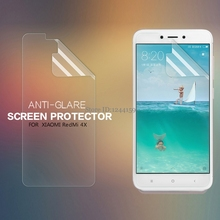 Buy 2 PCS/Lot Screen Protector XIAOMI Redmi 4X NILLKIN Matte Scratch-resistant Frosted Protective Film + retailed package for $5.70 in AliExpress store