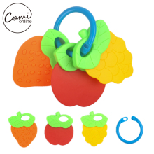 New Baby Toys Kids Cute Fruit Animal Rattle Toddler Music Plastic Hand Jingle Shaking Bell Newborn Toys Infant  Hand Bell Rattle