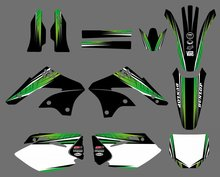 0238 Power New Style TEAM GRAPHICS & BACKGROUNDS DECALS STICKERS Kits Kawasaki KX450F KXF450 2006 2007 2008 KX 450F KXF 450 - DIRT BIKE store