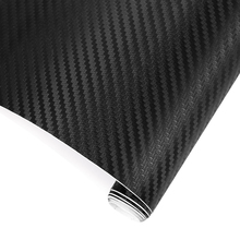50cm Wide 3D Carbon Fiber Vinyl Film Car Stickers Waterproof DIY Motorcyle Car Styling Accessories Wrap Sheet Roll Film Decal(China)