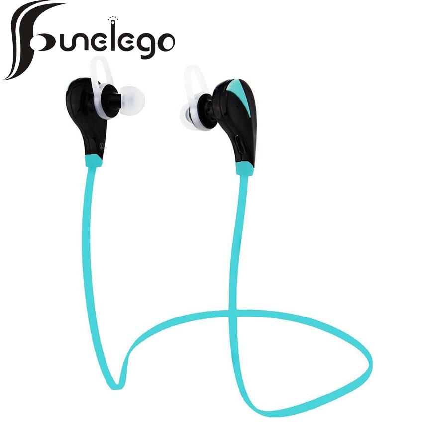 Funelego New Portable Sport Running Bluetooth earphone For IPhone IPad smartphone Stereo Music Handsfree Wireless Headset mic<br><br>Aliexpress