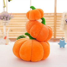 christmas decorations for home Gift Pumpkin Doll Plush Cushion Large Pumpkin Pillow Cushion Halloween Event Gift(China)