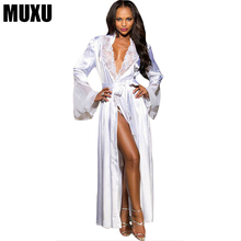 Buy MUXU white dress sexy woman dresses womens clothing vestido summer clothes women robe longue chiffon dress robe longue femme for $29.13 in AliExpress store