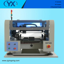 Best seller 4 Heads Automatic SMT460 With 44 Feeders +6 Camera PCB Soldering Machine Manufacturer