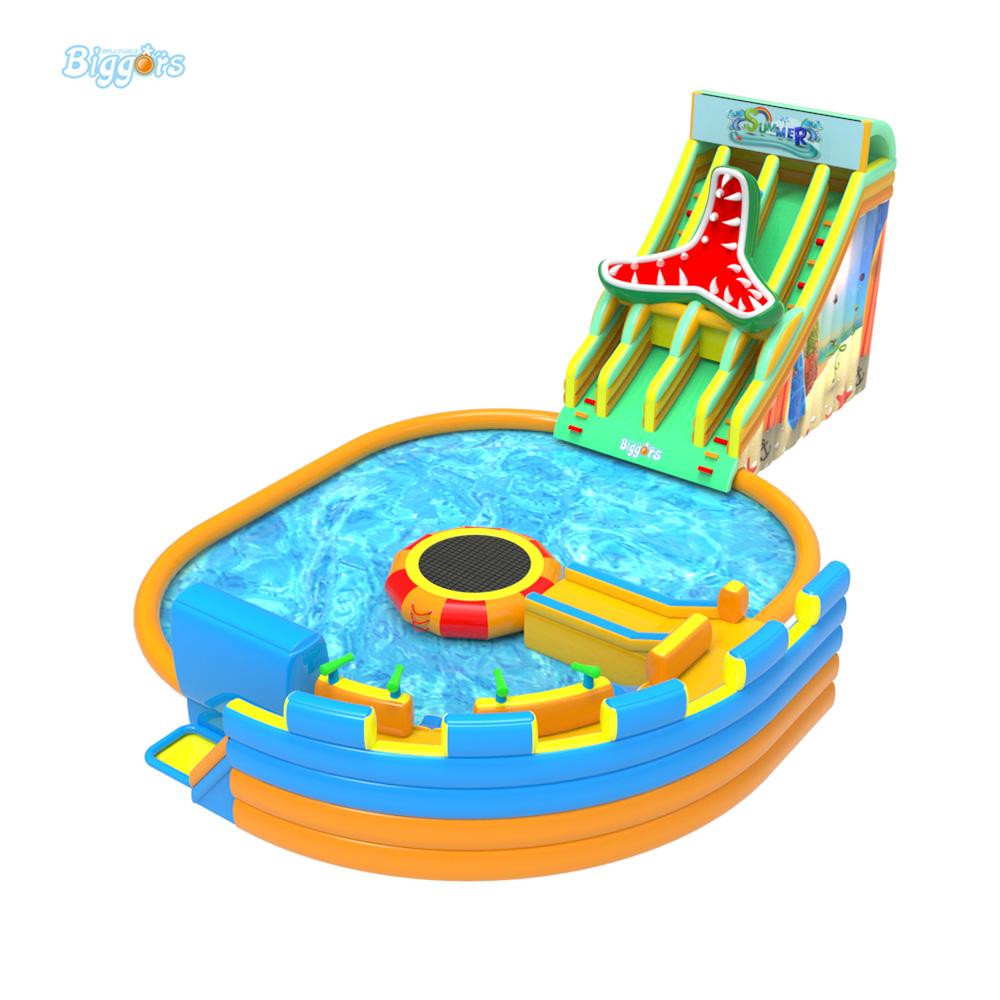 Inflatable pool slide (6)