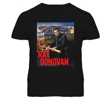 Ray Donovan Schreiber Voight T Shirt Casual Man Tees Mens Tops 2017 New Arrival Men'S Fashion Top Tee Short Sleeve  T-Shirt
