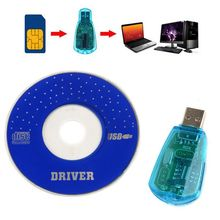 Mayitr High Quality Standard USB Cellphone SIM Card Reader Copy Cloner Writer SMS Backup GSM/CDMA+CD