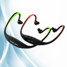 Sport Wireless Earphone Headphone Earphones Headphones Headset Music MP3 Player TF Card FM Radio