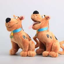 Scooby Doo Dog Stuffed Animals Cartoon Plush Toys 24 CM Children Gift 2 Styles to Choose