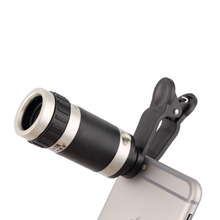 niversal 8-18x Zoom Optical Mobile Phone Telescope Telephoto Camera Len+Clip Promotion