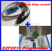 1set EZP2010 high-speed USB SPI Programme + IC Test Clips socket(China)