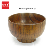 Direct sale of factories chinese/asian style whole wood Handmade bo Rice/Noodles/Sushi/Food/Sugar/Soup wood bowl 10-24cm(China)