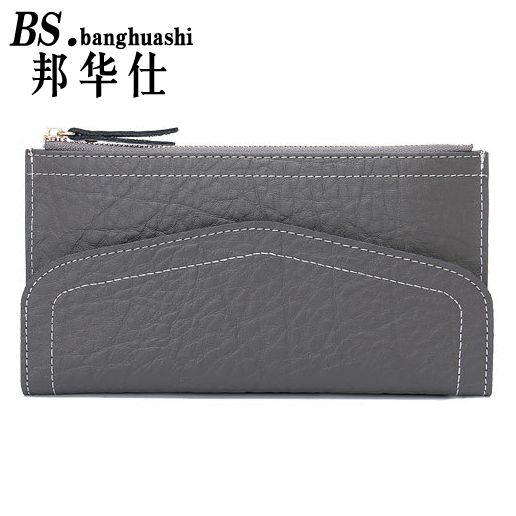 New Multi-Functional Leather Wallet Ladies Long Wallet Large-Capacity Multi-Credit Card Womens Clutch<br><br>Aliexpress