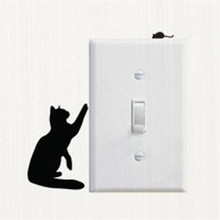E3 High Cost-Effective Room Window Wall Decorating Switch Vinyl Decal Sticker Decor Cartoon