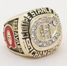 The Best Quality Replica Newest Design 1986 Ice Hockey Montreal Canadiens zinc alloy sports world Championship Ring for Fans(China)